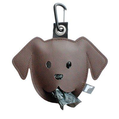 poepzakjeshouder doggy donkerbruin