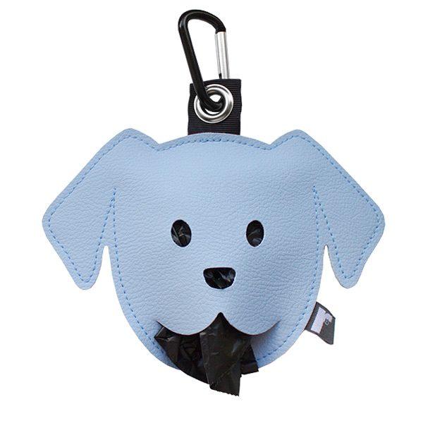 poepzakjeshouder doggy lichtblauw