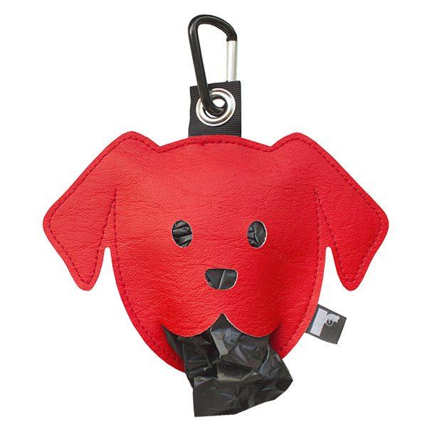 poepzakjeshouder doggy rood