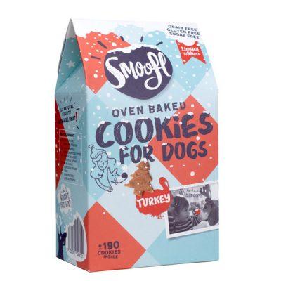 woefeltje smoofl kerst hondenkoekjes kalkoen