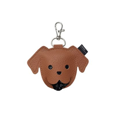 Puppy poepzakjeshouder bruin
