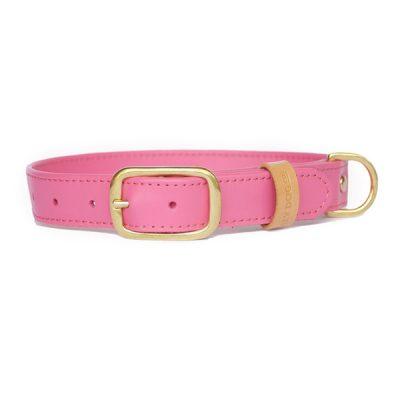 woefeltje hondenhalsband lago rosa