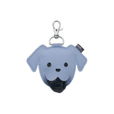 Puppy poepzakjeshouder licht-blauw